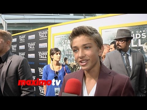 Gavin Casalegno Interview | When the Game Stands Tall | World Premiere