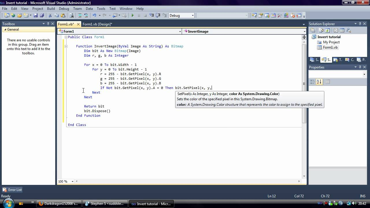 Drawing text in gdi+ using vb. Net.