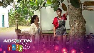 Momshie Melai tries to climb a tree   Magandang Buhay