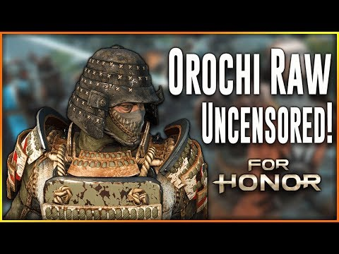 For Honor Orochi Rework ∙ Raw & Uncut [Light Parries For Everyone!]