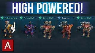 Variety POWER HANGAR Max Level   War Robots Gameplay