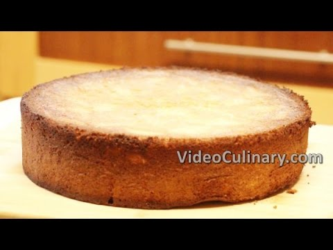 Vanilla Sponge Cake Recipe - Video Culinary