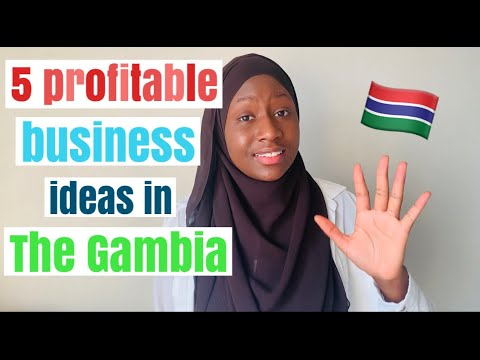 5 Profitable Business Ideas in Africa (Gambia) / Employ and Earn Passive Income in Africa (Gambia)