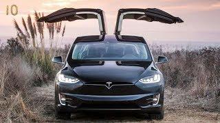 Лучшие Электроавтомобили 2018 года ТОП 10 Электрокар Электромобиль Tesla Smart Nissan Volkswagen