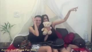 karina krichmar and preety fun time