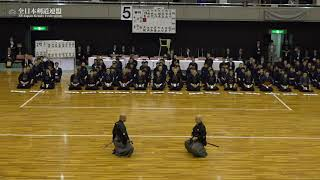 NIPPON KENDO KATA-ENBU - 67th All Japan Interprefecture KENDO Championship 2019