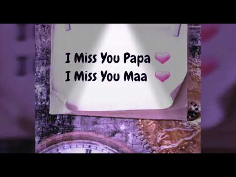 Best Song For Mummy Papa Heart Touching Youtube