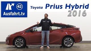 2016 toyota prius hybrid fahrbericht der probefahrt test review