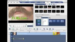 ulead video studio 10 part 12 title animation