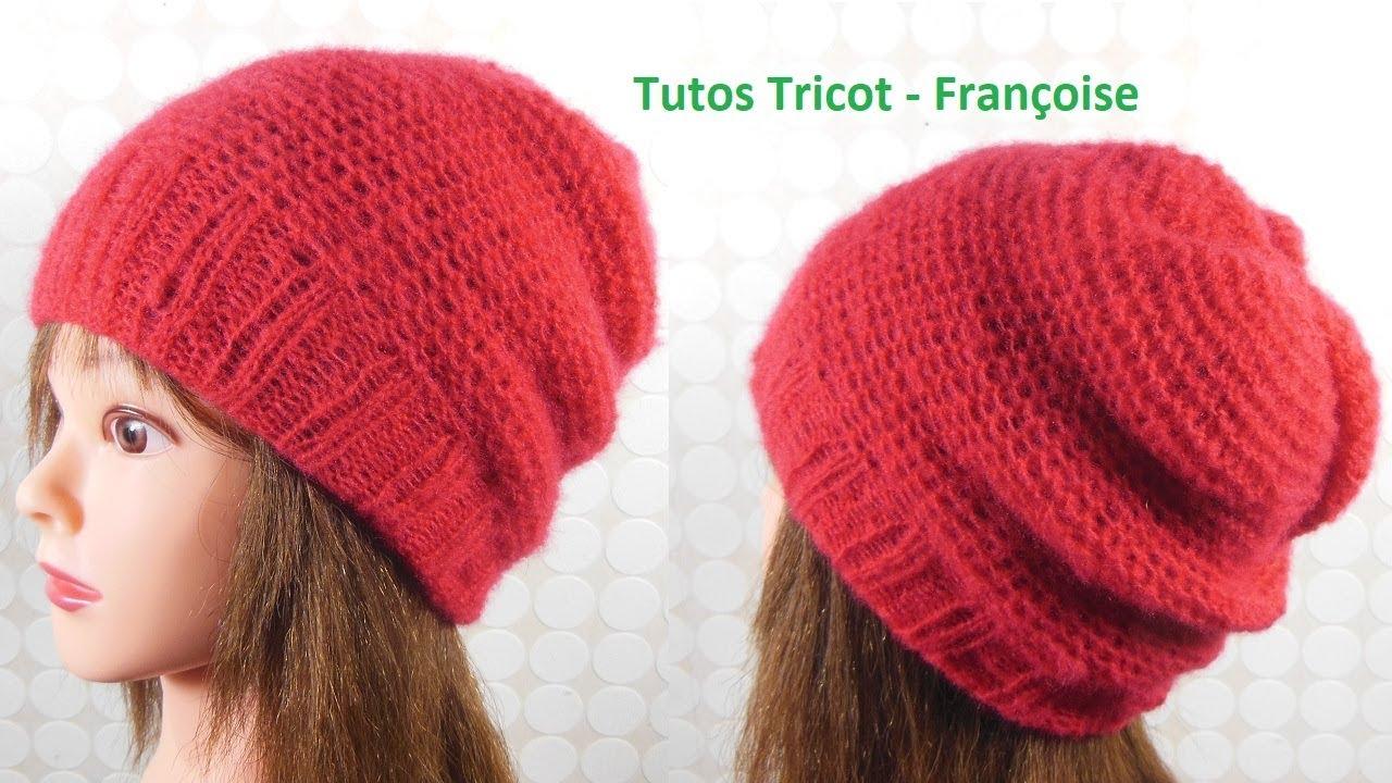 Tuto Tricot bonnet enfant côtes 2 2 et point mousse indéformable (Torse) 6  ans à 12 ans 57f6b90015b