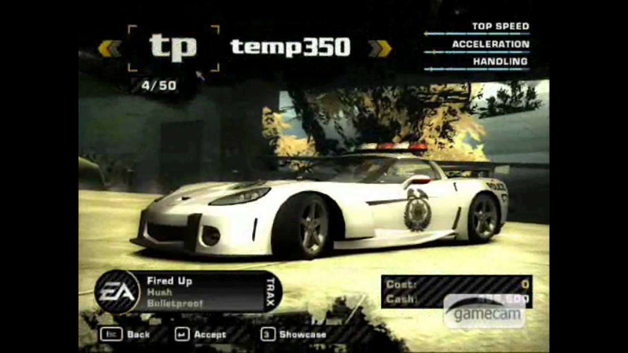 Need For Speed Most Wanted Bonus Cars Hack - YouTube