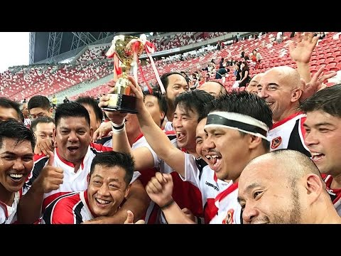 Super Rugby 2017 (Curtain Raiser) Singapore Legends vs Asian Dragons