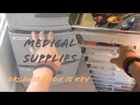 HOW I ORGANIZE MY MEDICAL SUPPLIES (12.17.18)