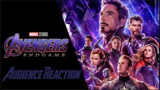 Avengers Endgame | INSANE AUDIENCE REACTIONS! | April 25th 2019