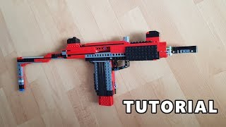 Working LEGO Uzi SMG - Tutorial