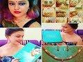 VOYLLA Fashion JEWELLERY HAUL//Earrings//Necklace Set//Indian Ethnic jewellery