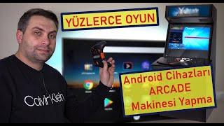 Android Cihazınızı Arcade Makinesine Dönüştürün (Tv Box , Tv , Telefon , Tablet vs)