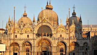Самые знаменитые архитектурные сооружения. Собор Сан- Марко(Собор Сан-Марко — это, пожалуй, самый посещаемый храм Венеции и одна из популярнейших достопримечательност..., 2016-04-21T15:01:32.000Z)