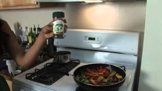 Food For Thin's Tanuja Paruchuri Shows How To Make Vegan Fajitas!