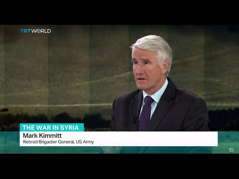 Interview with retired brigadier general Mark Kimmitt from US Army on the war in Syria