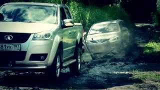 видео Движение автомобиля по песку, преодоление песчаных подъемов и спусков