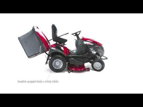 Zahradní traktor XHTY 240 4WD