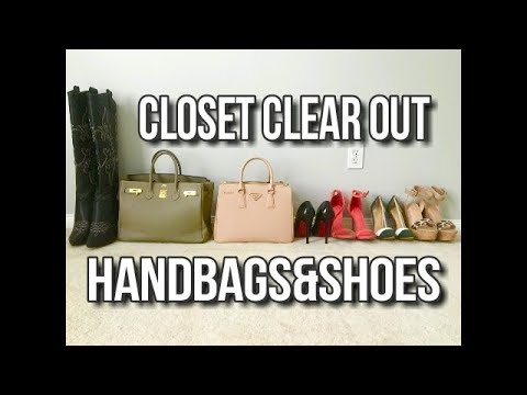 Selling My Closet Birkin Bags Shoes Red Bottoms Boots- Closet Clear Out