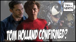 Tom Holland Spider-man in Venom Movie CONFIRMED | Jon Schnepp Scoop Explained