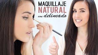 Maquillaje Natural Con Delineado