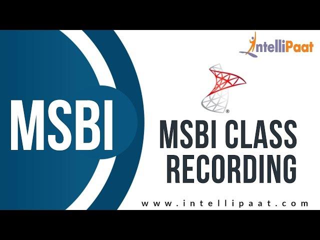 msbi tutorials for beginners