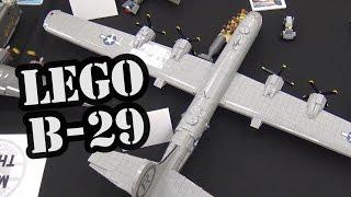 Лего Б-29 Енола Гей літак Другої світової війни | світової війни цегляний 2017