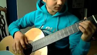 Видеоурок игры на гитаре гамма поможет растяжке пальцев