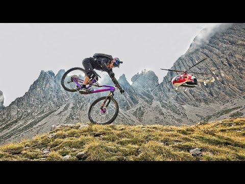 Riding down the Dolomites - Fabio Wibmer