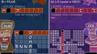 CGRundertow NEW YORK TIMES CROSSWORDS for Nintendo DS Video Game Review