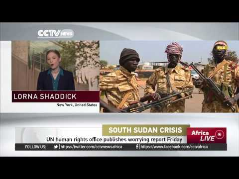 UN human rights office publishes worrying report on South Sudan