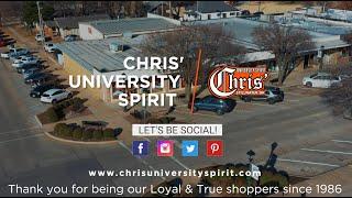 Chris' University Spirit Promo