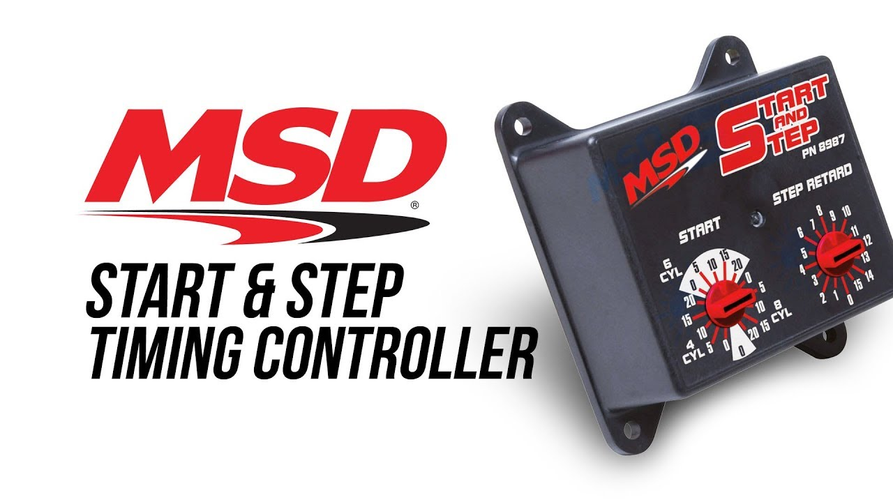 hight resolution of msd start step timing control