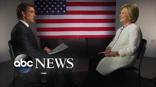 Hillary Clinton Interview With David Muir After Win