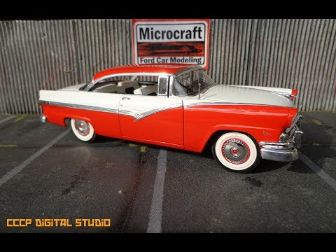 Building the AMT 1956 Ford Fairlane Victoria.