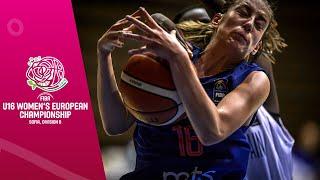 Great Britain v Serbia - Full Game - FIBA U16 Women's European Championship Division B 2019