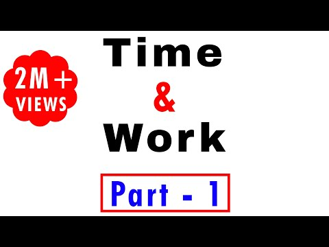 time and work by study smart