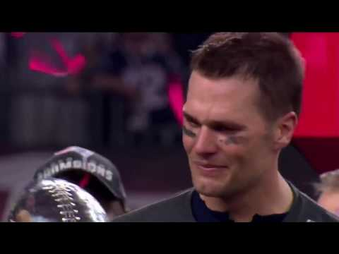 Tom Brady interview after Winning SuperBowl