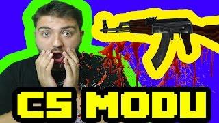 Minecraft Counter Strike Modu !!!  [ Counter Guns Mod 1.10.2 ]