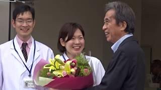多々見良三舞鶴市長が舞鶴医療センターから退院②2018年6月14日