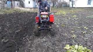 мини-трактор из мотоблока Кентавр 1013 .12 л.с.