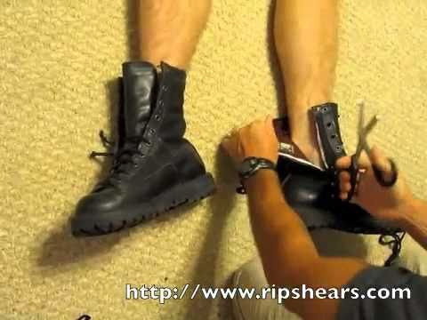 RipShears - Danner Boot Demo - YouTube