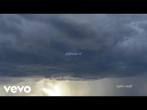 Taylor Swift - tolerate it (Official Lyric Video)