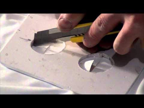 видео: Монтаж натяжного потолка с обводом трубы