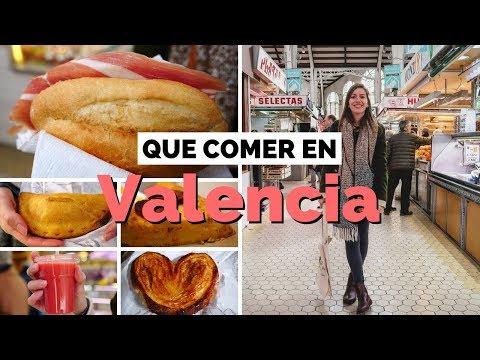 Que comer en Valencia, España | Visitando el Mercado Central