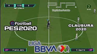 PES LIGA MX PSP | CLAUSURA 2020 | PLANTILLAS Y KITS ACTUALIZADOS